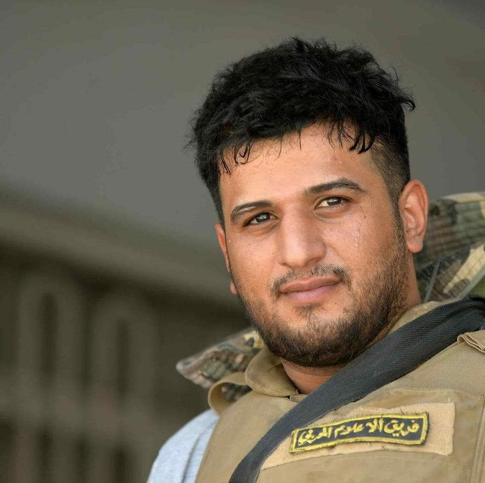 قذيفة هاون تودي الى استشهاد مصور صحفي قرب الحويجة