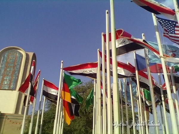 تبادل خبرات ومعلومات في معرض بغداد الدولي لدورته 44