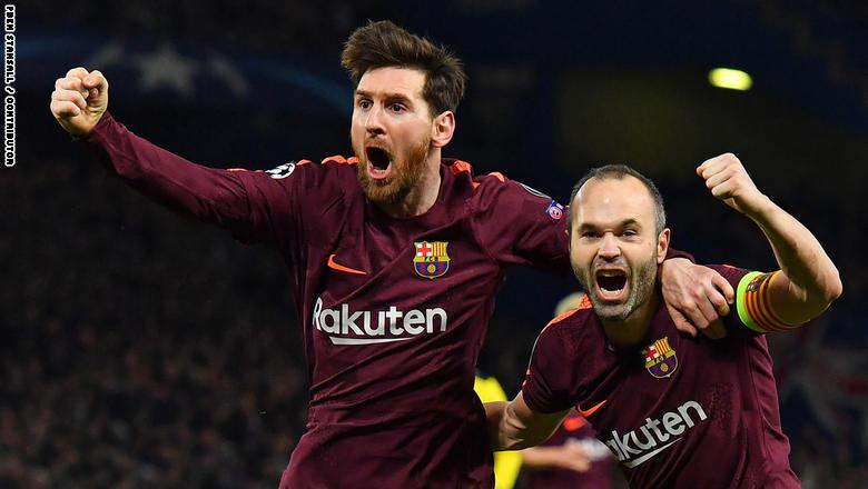 برشلونة تتعادل مع تشيلسي في دوري ابطال اوربا