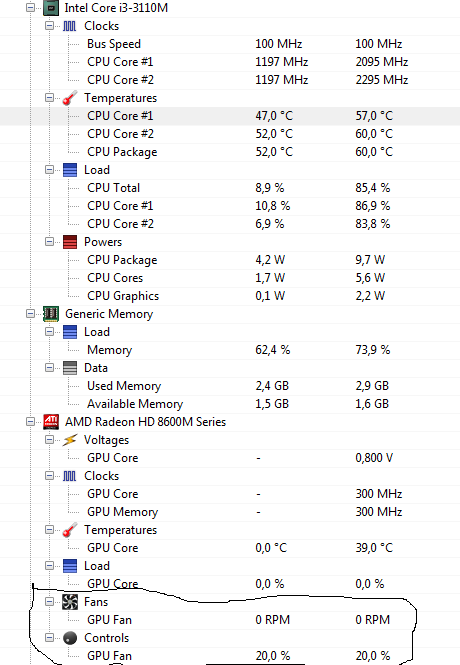 مروحة حاسوب HP