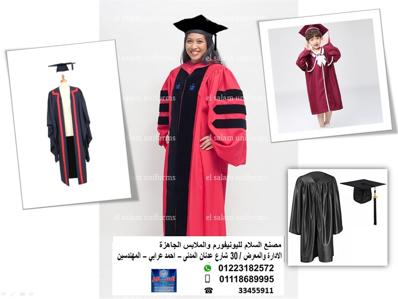 (graduation gown and cap (01118689995