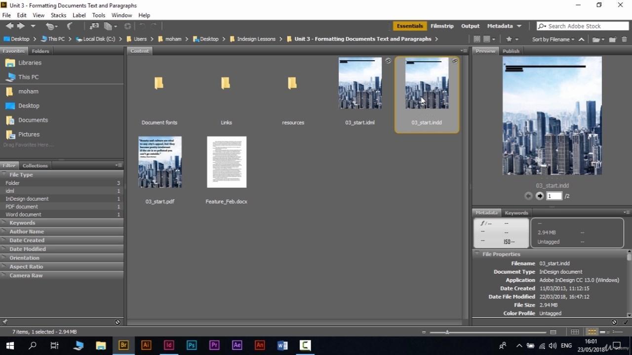 كورس تصميم المجلات و الكتب و الصحف باستخدام (Adobe InDesign 2018 ) تحميل تورنت 10 arabp2p.com