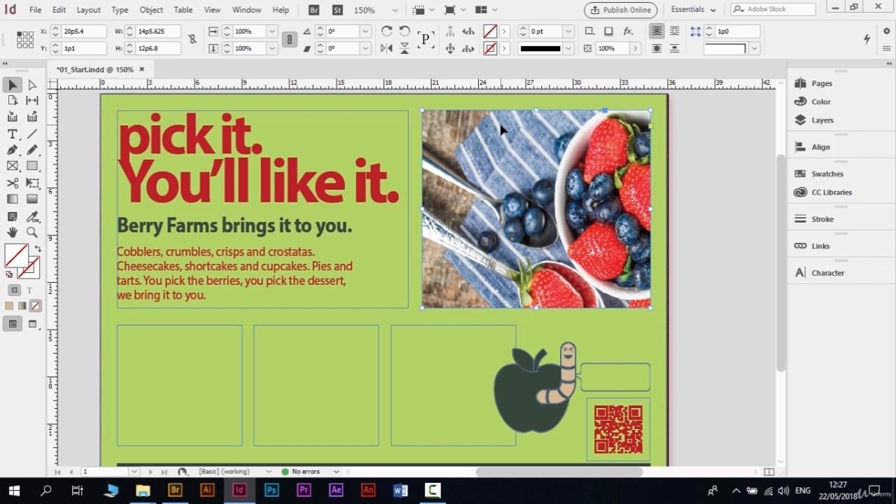 كورس تصميم المجلات و الكتب و الصحف باستخدام (Adobe InDesign 2018 ) تحميل تورنت 9 arabp2p.com